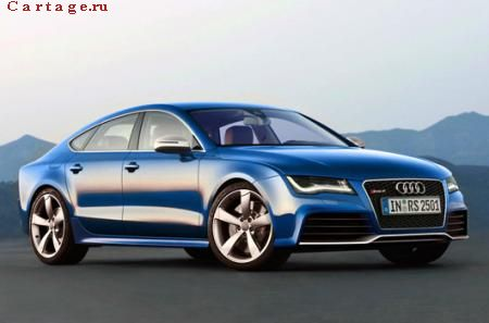 Audi RS7 Expected наметило релиз на 2012