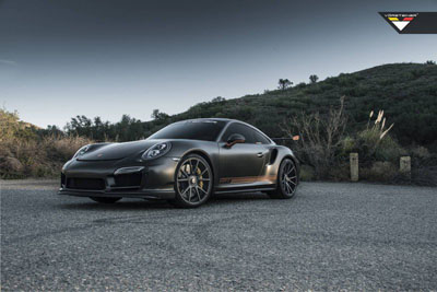 Porsche 911 Turbo S V-RT Edition от Vorsteiner